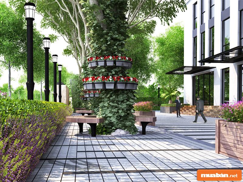 Là dự án mang tầm cao cấp, tổng hợp của nhiều yếu tố hiện đại và sang trọng