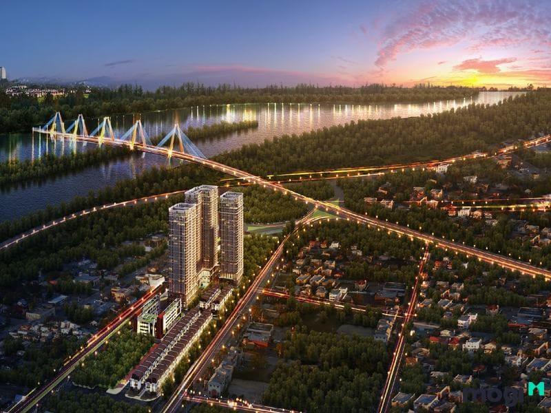 Kiến trúc của dự án có sức hút khổng lồ
