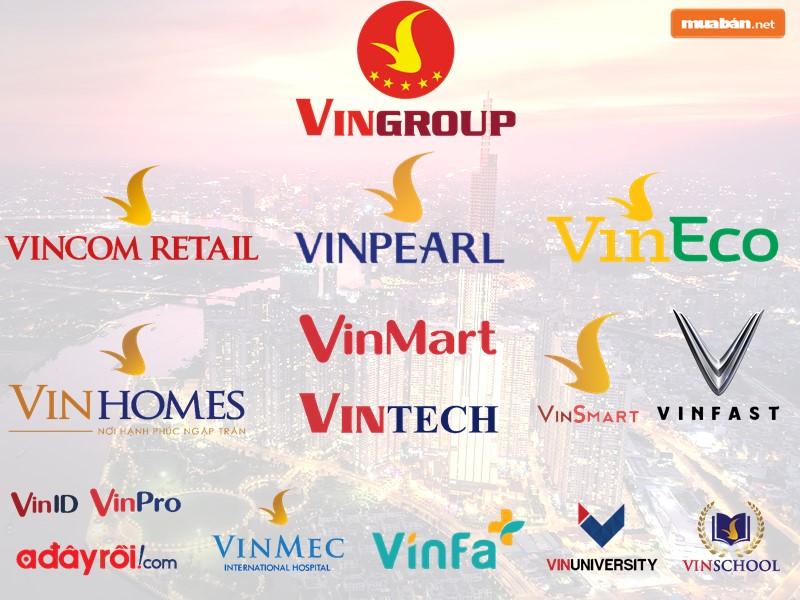 Những ngành kinh doanh của Vingroup