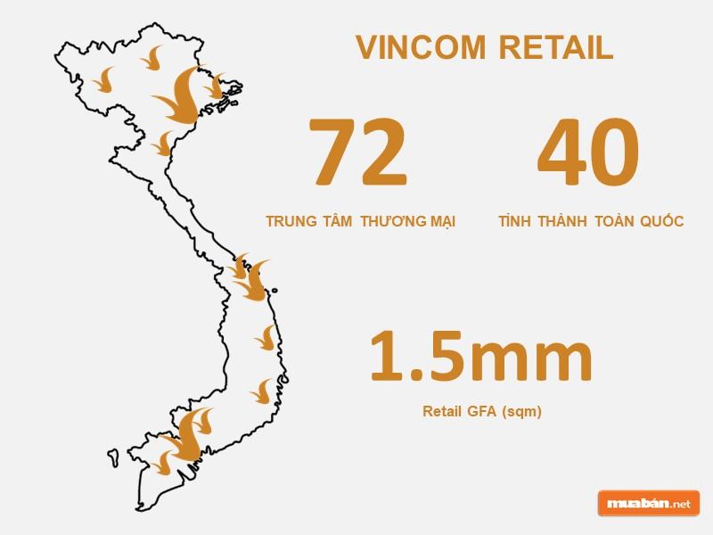 Tình hình kinh doanh của Vincom Retail.