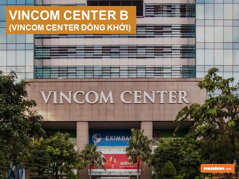 Mặt tiền Vincom Center Đồng Khởi