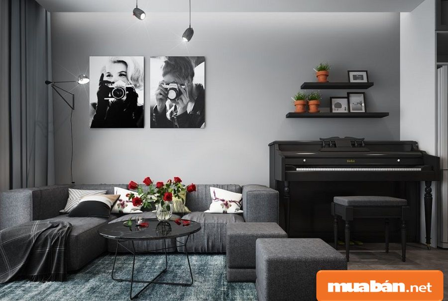 Diện tích các căn hộ từ 52,55m2 đến 90,40m2 và được thiết kế từ 1 đến 3 phòng ngủ.