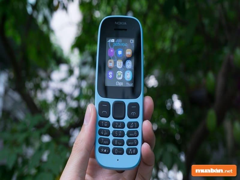Nokia 105 là điện thoại 2 sim phổ thông