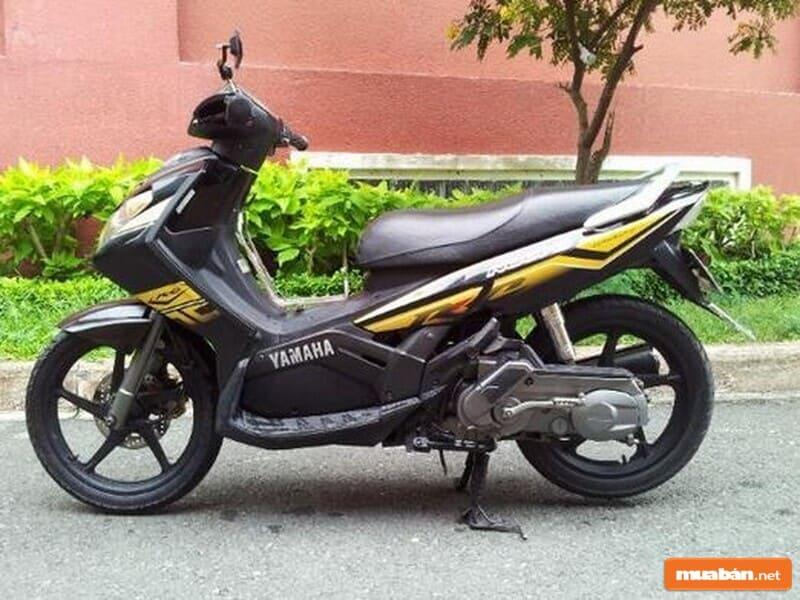 Nouvo là dòng xe mai hơi thở kỳ lạ của Yamaha