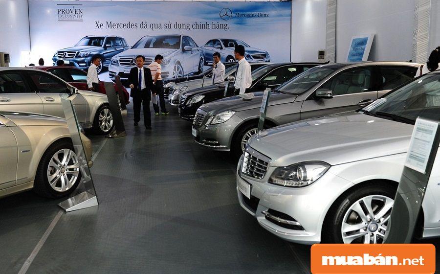 Mỗi xe đều có một nguồn gốc, xuất xứ khác nhau, như xe cũ nhập khẩu...