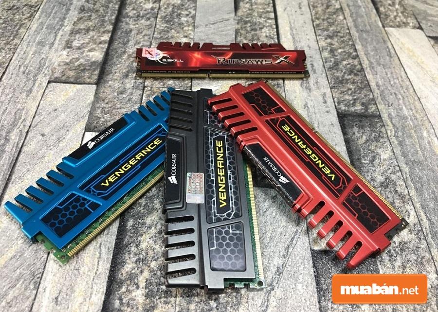 RAM hiện nay rất phong phú và đa dạng hơn trước nhiều.