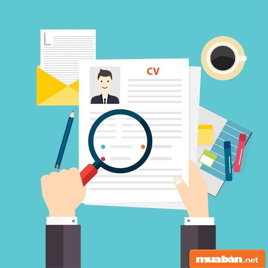 Đưa ra những thành tích trong hồ sơ giúp bạn gây ấn tượng hơn.