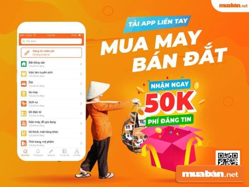 Muaban.net là nền tảng uy tín để bạn đăng tin rao vặt không mất phí