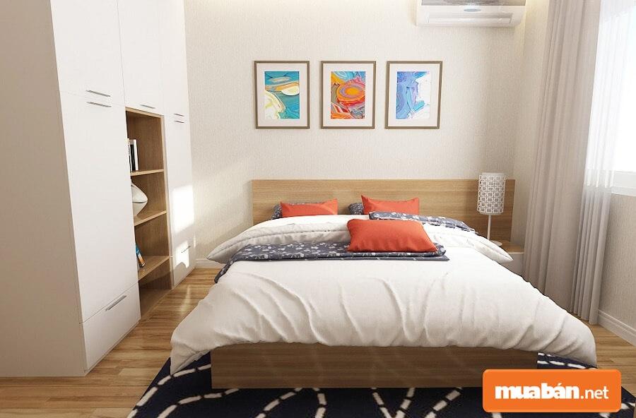 Thiết kế căn hộ dự án độc đáo theo chuẩn Singapore, các căn được thiết kế vuông vức, tiết kiệm không gian và tối đa hoá diện tích.