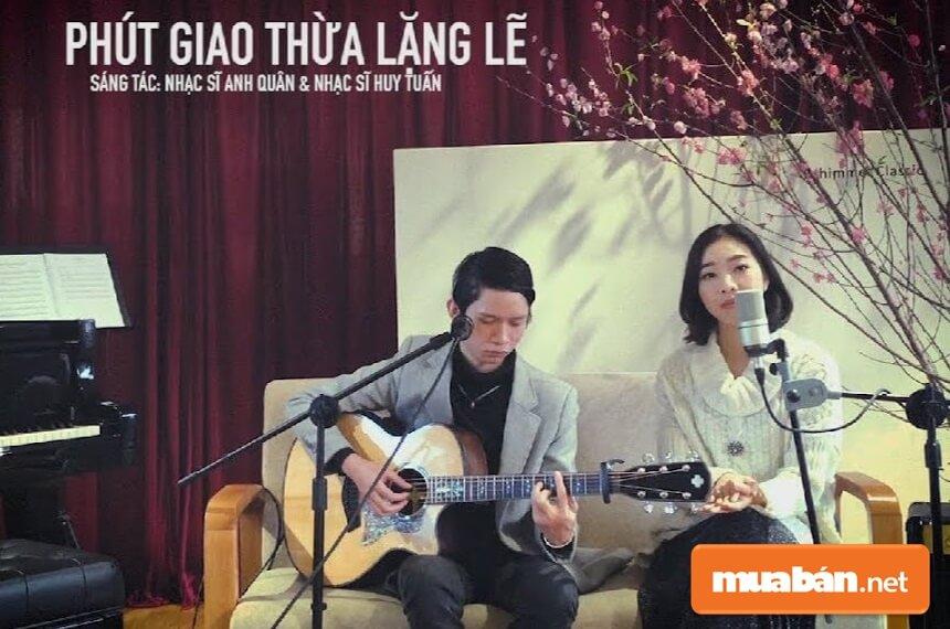 Ca khúc Phút Giao Thừa Lặng Lẽ của nhạc sĩ Anh Quân & Huy Tuấn