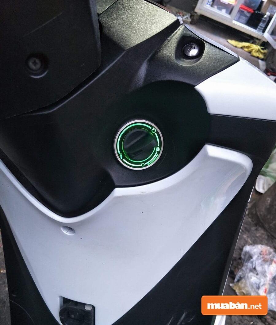 Honda SH Ý 2019 cũng được trang bị chìa khóa thông minh Smartkey.