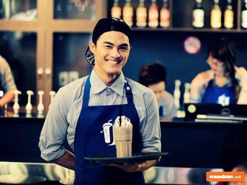 Nhân viên quán cafe là công việc phổ thông phù hợp với nhiều người