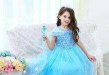 Váy công chúa cực xinh cho bé gái diện đi chơi Tết