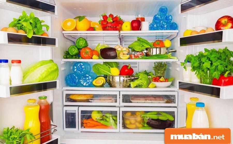 Bạn nên ưu tiên những thực phẩm tươi ngon, và chế biến hàng ngày.
