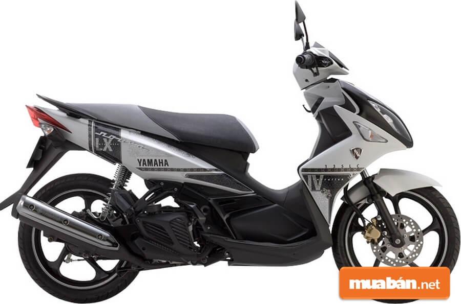 Nouvo LX 135 có sự cải tiến mạnh mẽ về thiết kế.