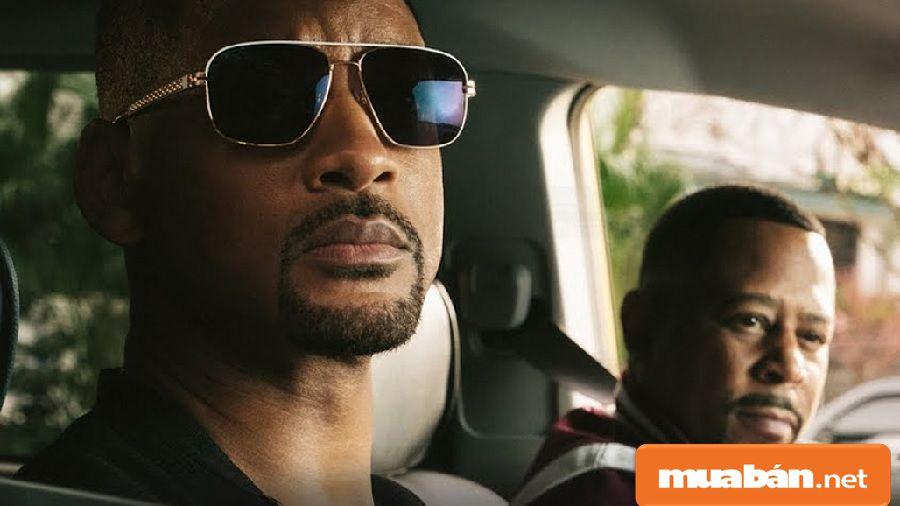 Hai nhân vật chính Mike (Will Smith) và Marcus (Martin Lawrence) trong phim.