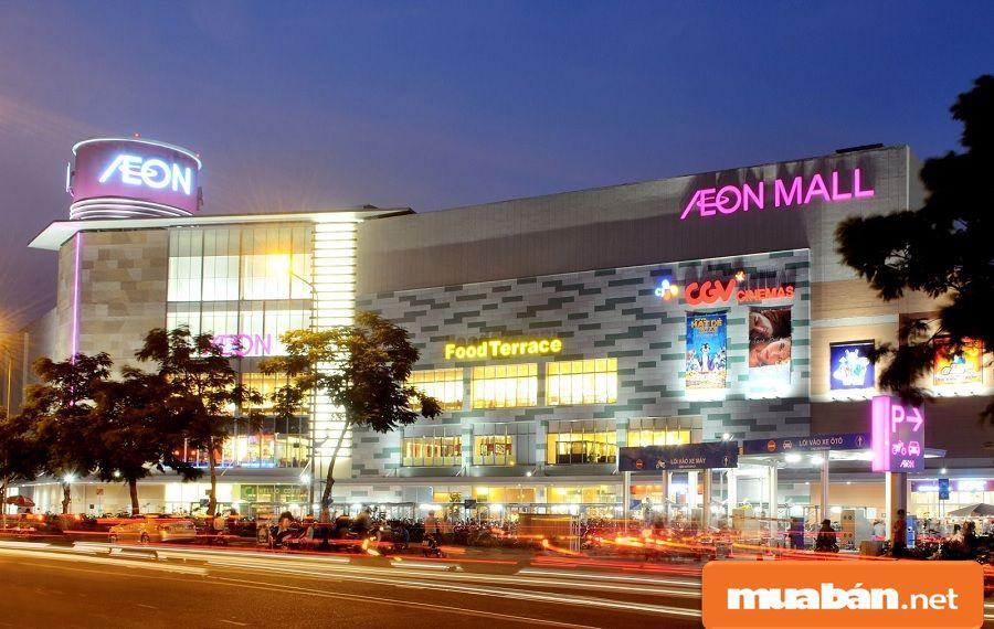 Đặc biệt nhất, Aeon Mall là chuỗi siêu thị bán lẻ đầu tiên được hình thành tại quận này.