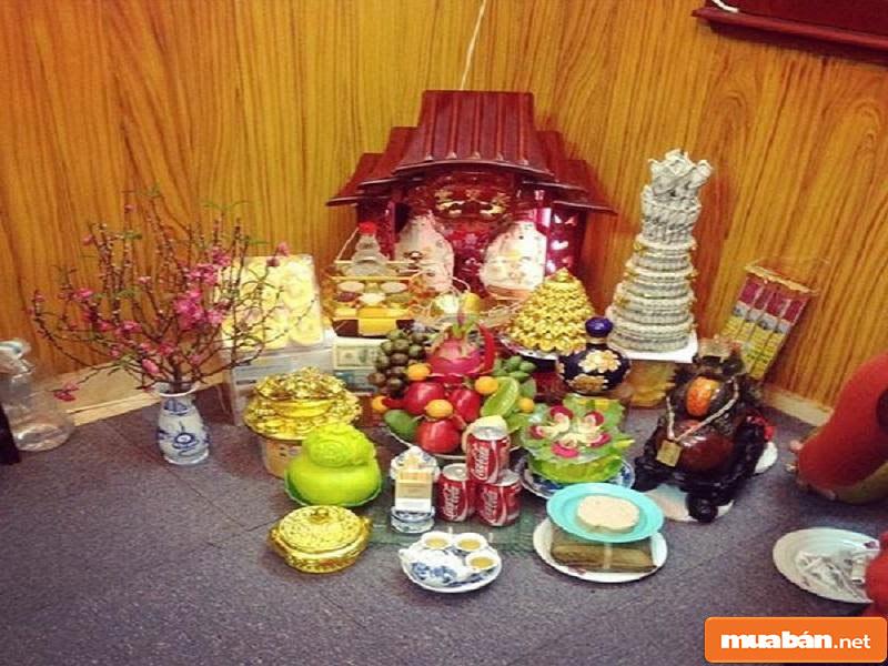 hoa đặt bàn thờ 21
