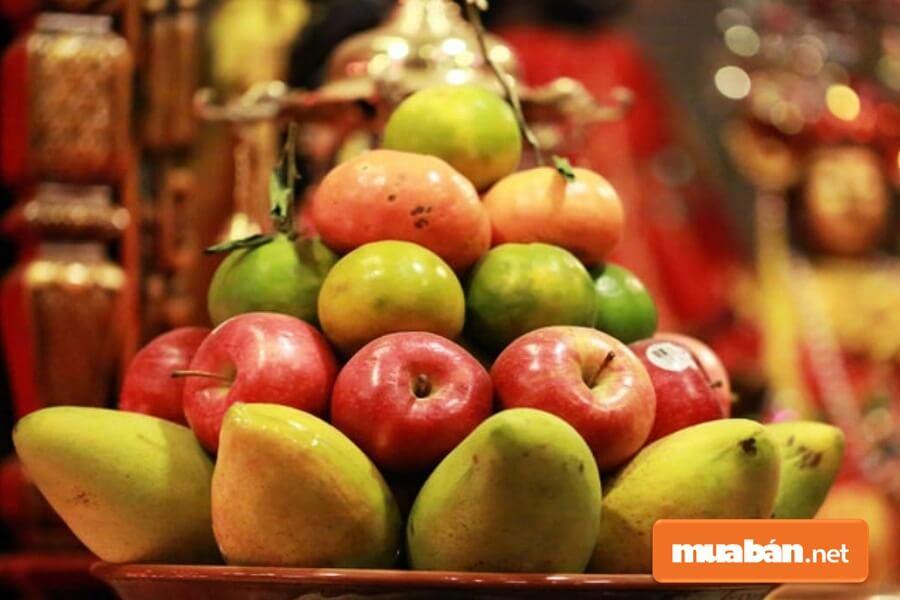 Khí hậu khắc nghiệt, ít hoa quả nên người dân miền Trung không quá câu nệ về những loại quả trưng ngày Tết.