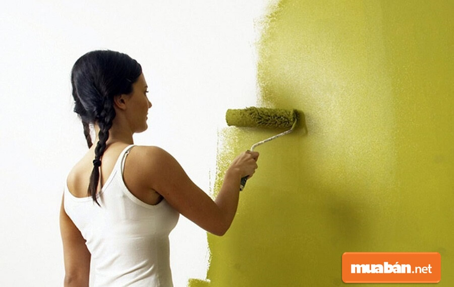 Các gia đình miền Nam thích sơn màu vàng hoặc màu xanh.