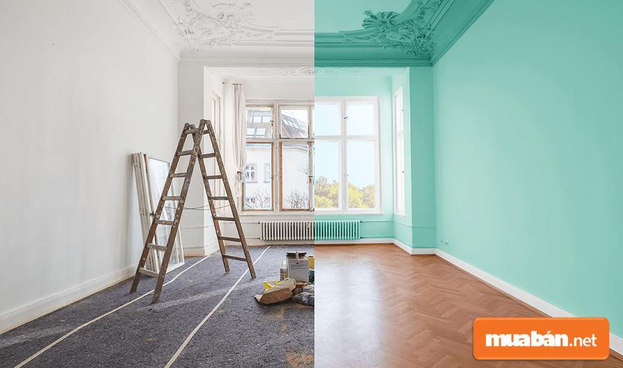 Học cách tự sơn nhà không chỉ giúp bạn tiết kiệm chi phí thi công, mà còn giúp gia chủ có thể tự làm mới cho không gian sống.
