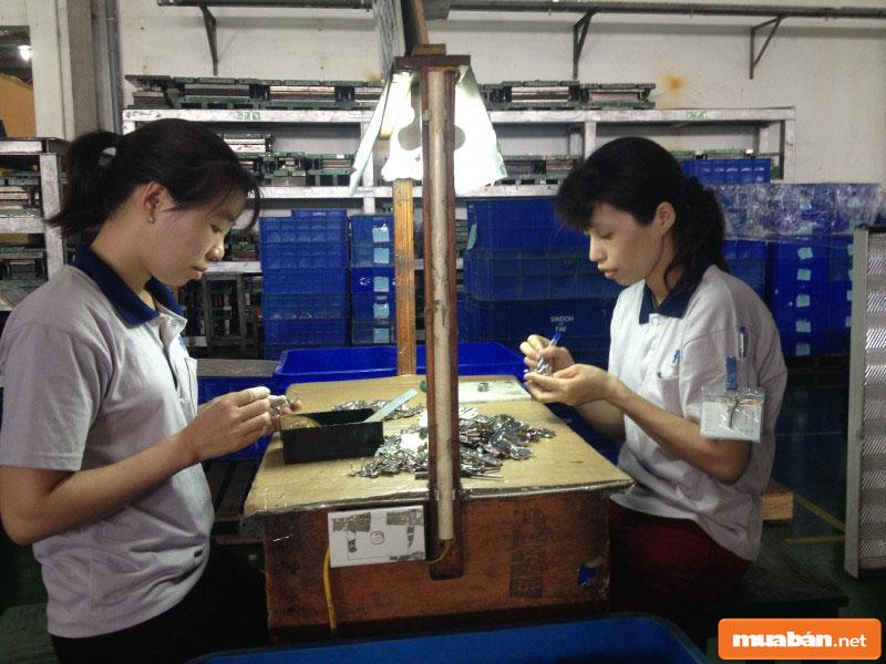 Nhân công may mặc tại thành phố Hồ Chí Minh