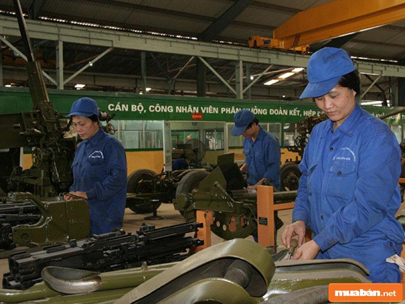 Số lượng công nhân kỹ thuật tăng cao tại Sài Gòn