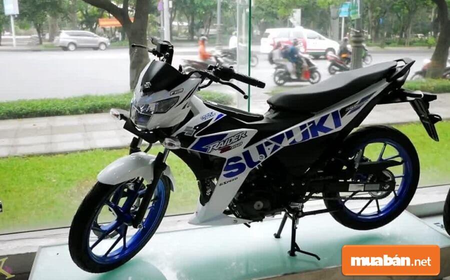Nhà sản xuất Suzuki vẫn giữ thiết kế thể thao, cá tính cho dòng xe Raider 2020.