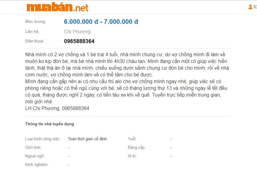 Muaban.net là một trong những website tìm việc được nhiều khách hàng lựa chọn.