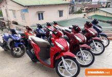 Nhu cầu thuê xe máy Hà Nội đang rất cao
