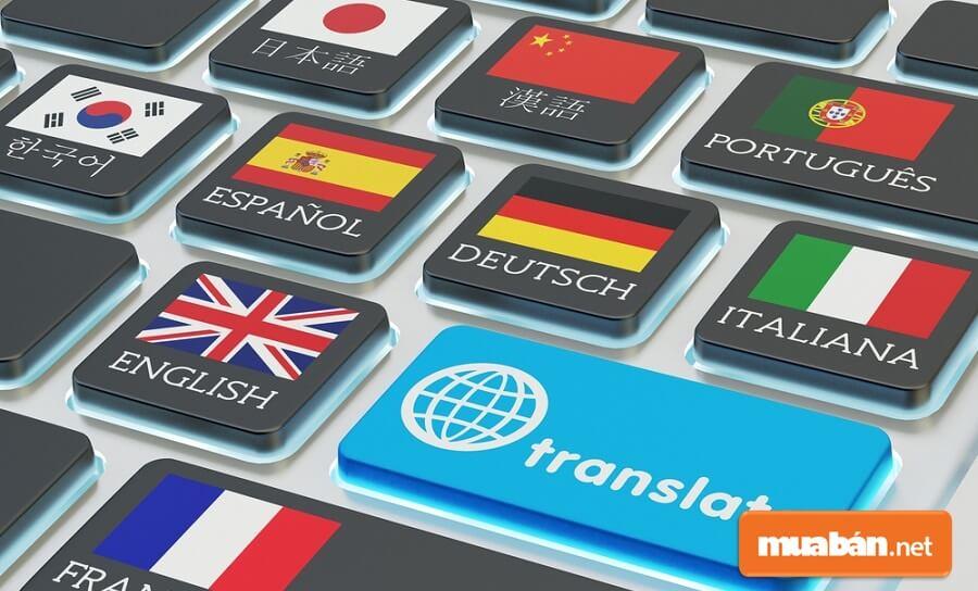 Dịch thuật - việc làm thêm dành cho ai giỏi ngoại ngữ