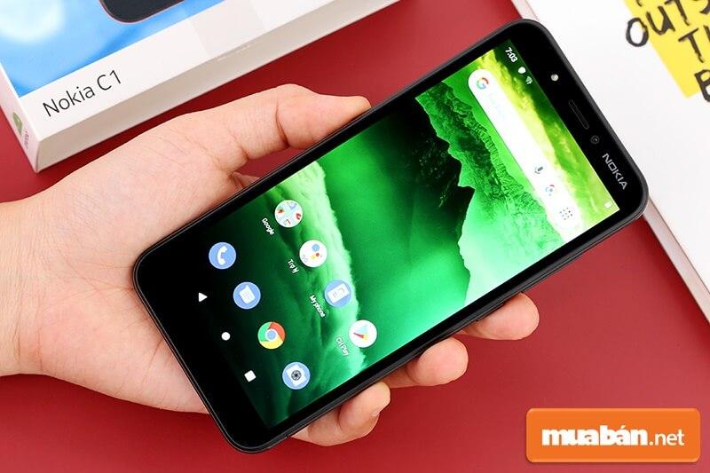 Nokia C1 là dòng smartphone giá rẻ hướng tới đối tượng là những người dùng phổ thông