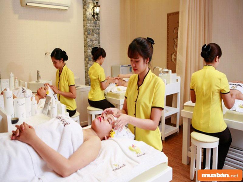 tìm việc làm massage lương cao