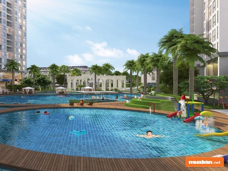 Những tiện ích nội khu sẽ dễ dàng làm hài lòng cư dân dự án Eco Xuân Bình Dương