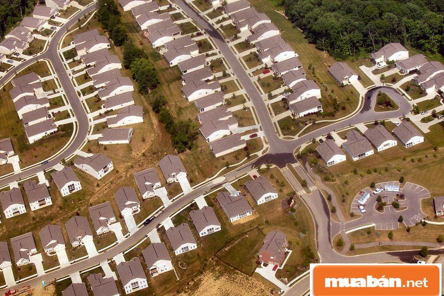 Quỵ hoạch đô thị là phân bổ không gian sống cho cư dân đô thị