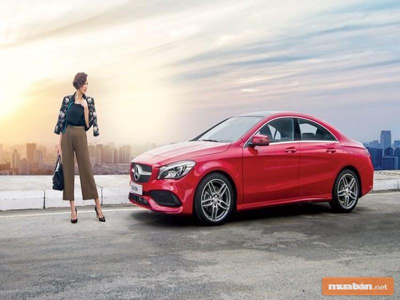 Bạn có ưng ý với chiếc xe Mercedes-AMG CLA này?