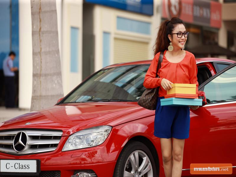 Đến với Muaban.net để tìm xe Mercedes cho nữ nhé