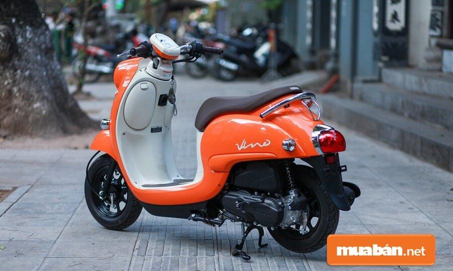 Yamaha Vinno 50cc là thiết kế xe máy 50cc Yamaha phiên bản nội địa Nhật Bản.