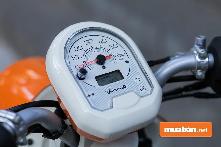 Trái tim của xe máy tay ga 50cc Yamaha này là động cơ 50 phân khối.