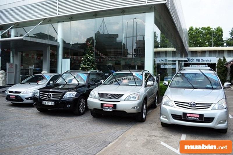 hợp đồng mua bán xe ô tô
