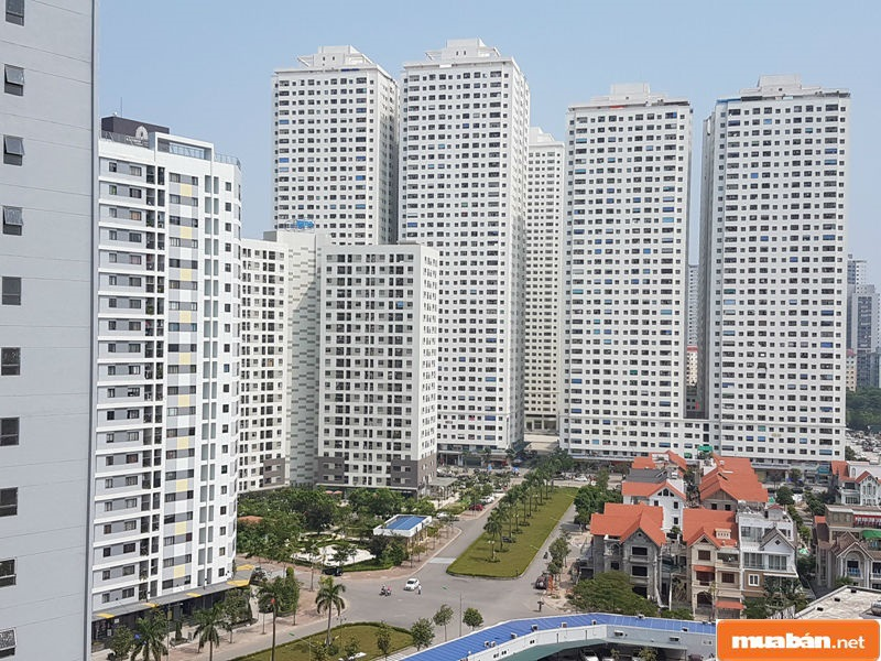 Ở những thành phố lớn, bạn có thể lựa chọn mua bán nhà đất loại hình căn hộ chung cư