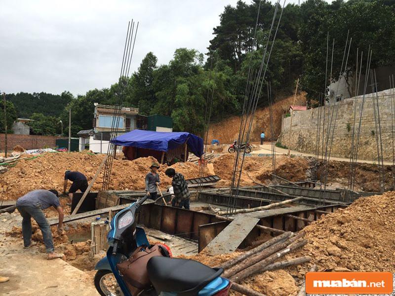 Các công trình nhà ở được xây dựng tại Lạng Sơn với mật độ cao hơn