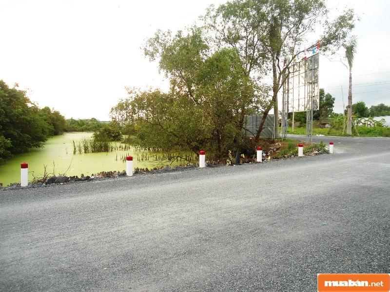 Những mảnh đất ở vùng ngoại ô huyện Nhà Bè được bán với giá khá rẻ