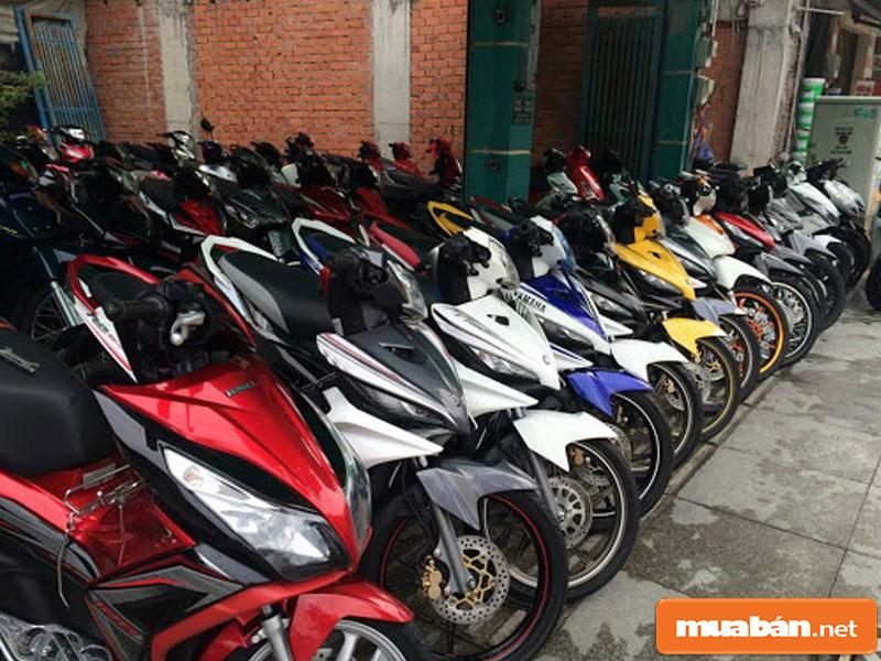Mua bán xe máy cũ tại Đà Nẵng 02