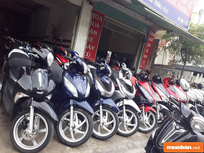 Mua bán xe máy cũ tại Đà Nẵng 09