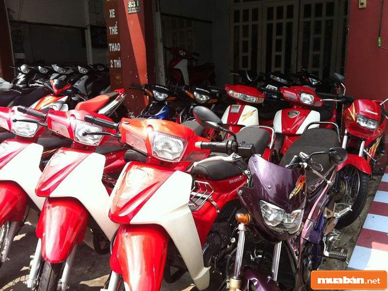 Mua bán xe máy cũ tại Đà Nẵng 07