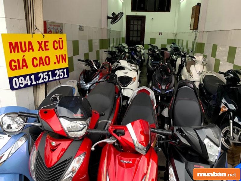 Mua bán xe máy cũ tại Đà Nẵng 08