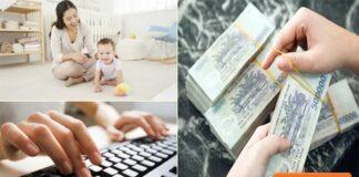 Top công việc gia công tại nhà giúp tăng thu nhập cho hội bỉm sữa