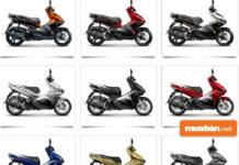 Cách chọn màu xe Honda Airblade 2017 theo phong thủy