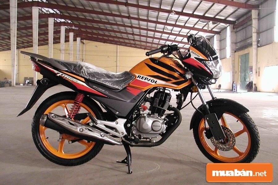 Dòng xe Fortune 125 không được Honda thiết kế hướng tới hình ảnh một chiếc nakedbike tiện dụng, đa năng.